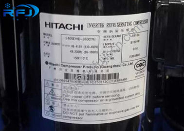 چین Highly rotary refrigerant hitachi ac compressor E405DHD-38D2YG with R410 توزیع کننده