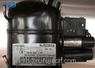 چین NJ9238GK AC R404 Embraco Aspera Compressor for Refrigeration , High Efficiency توزیع کننده