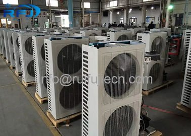 چین CE Approval Air Cooled Condenser Unit 380V / 220V Medium Temperature توزیع کننده